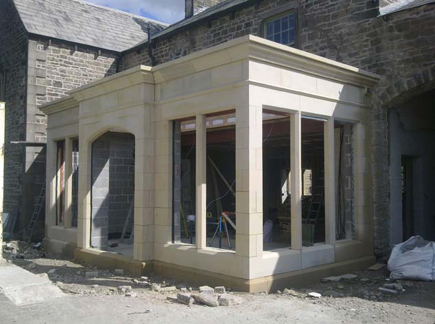 natural stone orangeries