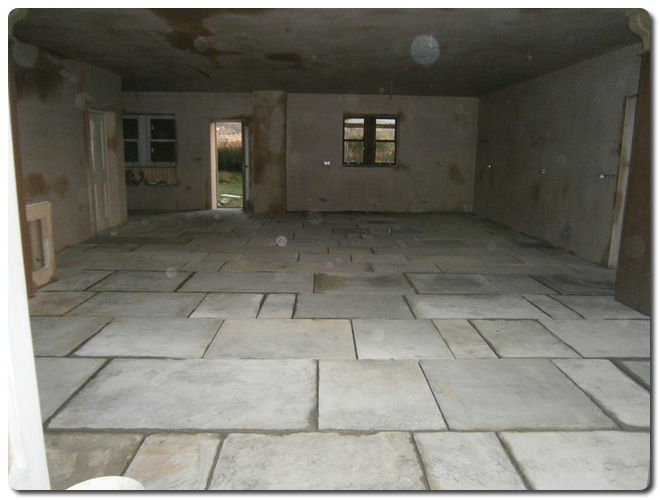 Work Examples Internal Yorkstone Flags Steptoes Yard