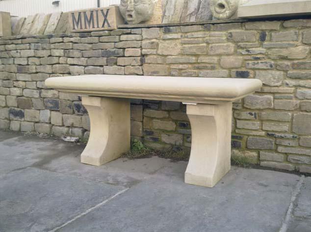 Stone Garden Seat