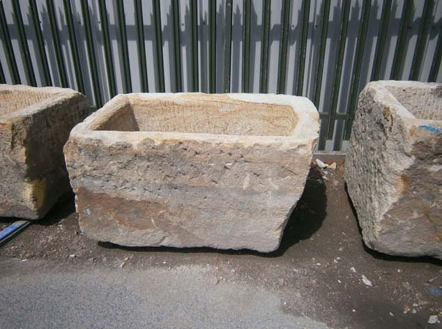 Large Ornamental Stone Garden Trough