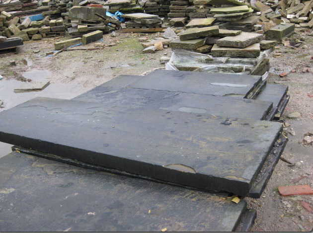 Wide Stone Coping
