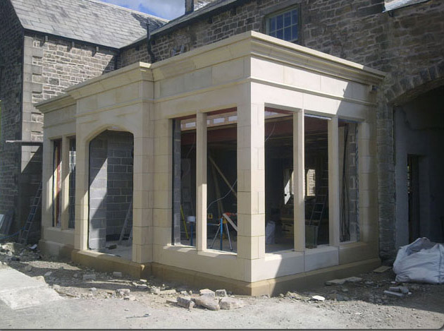 Bespoke House Extension Masonry