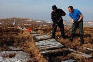 Rangers working on penineway