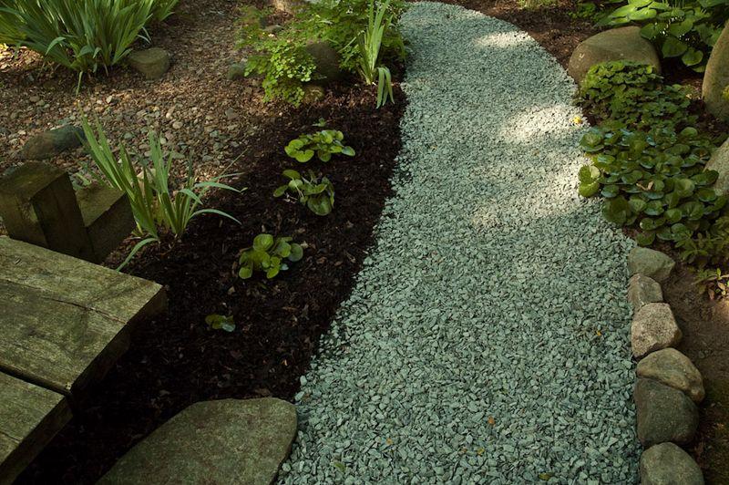 Stone Chip Garden Path