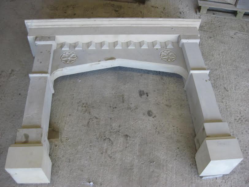 bespoke stone fireplace design