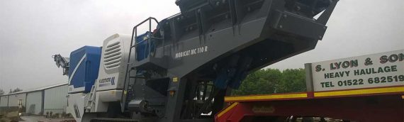New crusher joins our fleet