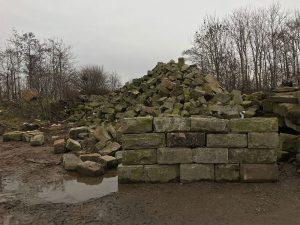 coarse walling stone