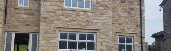 Backed Off Random Walling Stone in Stock