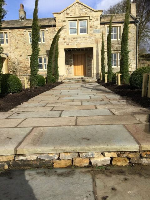 stone paving flags